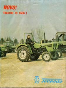 promotivni plakat za traktor Torpedo 4506 j