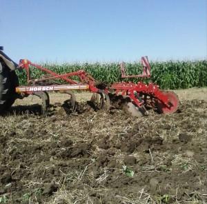 gruber, priključak za traktor